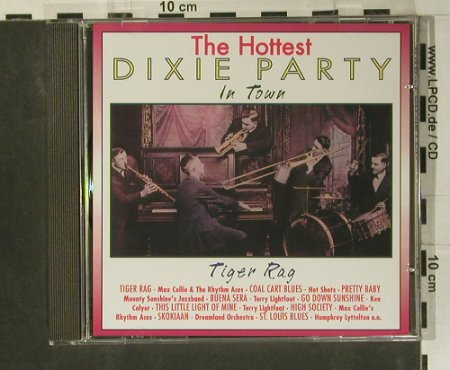 V.A.Dixie Party - the Hottest: Tiger Rag, Pastels(20.1606), EEC, 1995 - CD - 99050 - 3,00 Euro