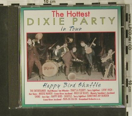 V.A.Dixie Party - the Hottest: Happy Bird Shuffle, Pastels(20.1603), EEC, 1995 - CD - 99053 - 3,00 Euro