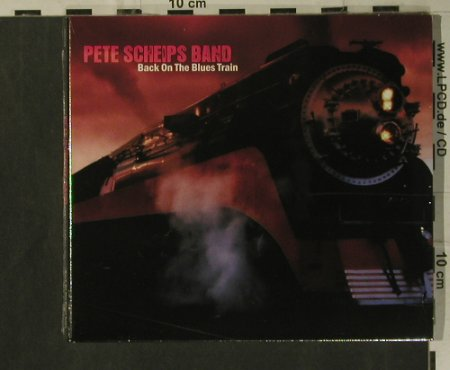 Scheips Band,Pete: Back on the Blues Train, Blues Boulevard Rec.(), EU, 2008 - CD - 99318 - 10,00 Euro