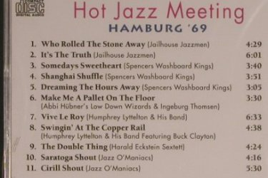 V.A.Hot Jazz Meeting: Hamburg Vol.2 (1969), FS-New, Pastels(20.1642), EEC, 1995 - CD - 99588 - 3,00 Euro