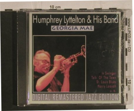 Lyttelton,Humphrey and his Band: Georgia Mae, FS-New, Pastels(20.1623), EEC, 1995 - CD - 99590 - 4,00 Euro