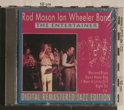 Mason,Rod / Ian Wheeler Band: The Entertainer, FS-New, Pastels(20.1620), EEC, 1995 - CD - 99592 - 4,00 Euro