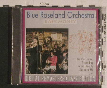 Blue Roseland Orchestra: Easy Money, FS-New, Pastels(20.1638), EEC, 1995 - CD - 99593 - 4,00 Euro