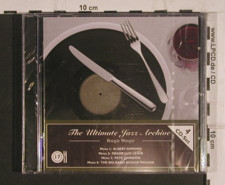 V.A.The Ultimate Jazz Archive: 17-Boogie Woogie, FS-New, Membran(222773), , 2005 - 4CD - 99755 - 7,50 Euro