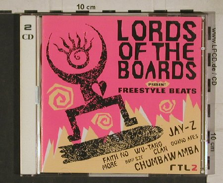 V.A.Lords Of The Boards: Freestyle Beats, BMG(), EU, 1997 - 2CD - 80553 - 7,50 Euro