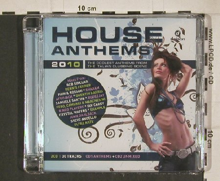 V.A.House Anthems 2010: Summer Edition, FS-New, d:vision(DV3369/10), I, 2010 - 2CD - 80944 - 10,00 Euro