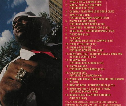DJ Polo: Polo's Playhouse, Black Jam(), D, 1998 - CD - 81036 - 7,50 Euro