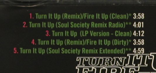 Busta Rhymes: Turn It Up(remix)/Fire It Up,5Tr., Elektra(), D, 1998 - CD5inch - 81154 - 2,50 Euro