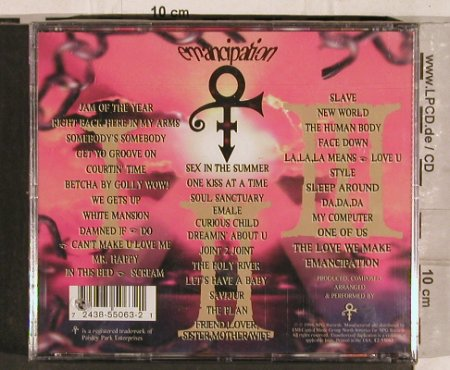 Prince As Symbol: Emancipation, FS-New, NPG(7243 8 55063 21), NL, 1996 - 3CD - 82181 - 15,00 Euro