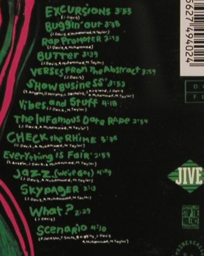 A Tribe Called Quest: The Low End Theory, Jive(ZD 74940), D, 1991 - CD - 82679 - 10,00 Euro