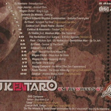 DJ Kentaro: On the Wheels of Steel, Ninja Tune(), , 2005 - CD/DVD - 82711 - 10,00 Euro