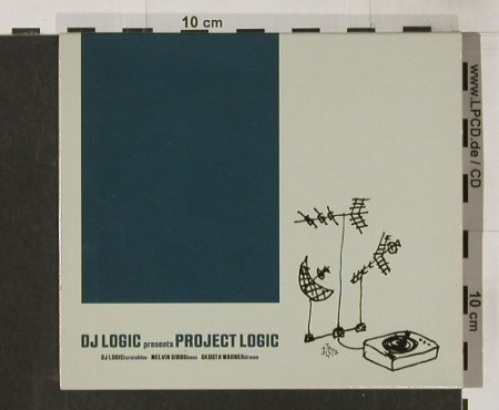 Dj Logic pres.: Project Logic, RopeADope(), EU, 2001 - CD - 82712 - 10,00 Euro