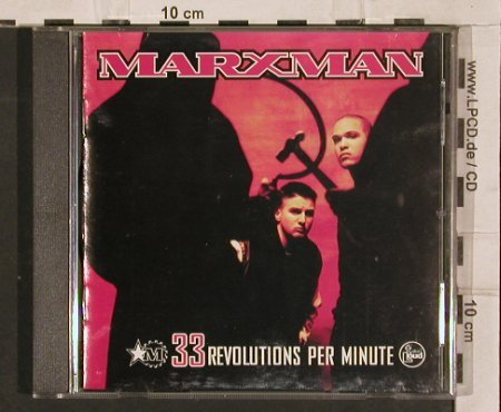 Marxman: 33 Revolutions Per Minute, TalkinLoud(), , 1993 - CD - 82737 - 7,50 Euro