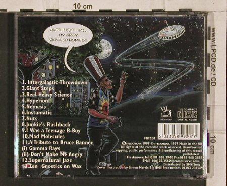 Mad Doctor X: Picnic With the Greys, Freskanova(), UK, 1997 - CD - 82740 - 10,00 Euro