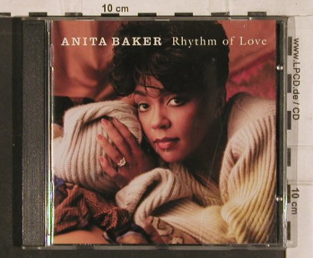 Baker,Anita: Rhythm Of Love, Elektra(), D, 1994 - CD - 82871 - 6,50 Euro