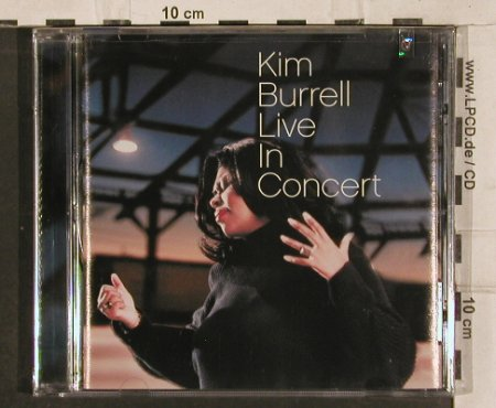 Burrell,Kim: Live in Concert, FS-New, TommyBoy(), US, co, 2001 - CD - 82873 - 10,00 Euro