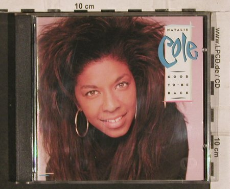 Cole,Natalie: Good To Be Back, EMI(), D, 1989 - CD - 82875 - 6,00 Euro