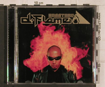 D-Flame: Basstard, Like New ,Facts,Sticker, Eimsbush(542 986-2), , 2000 - CD - 82878 - 7,50 Euro