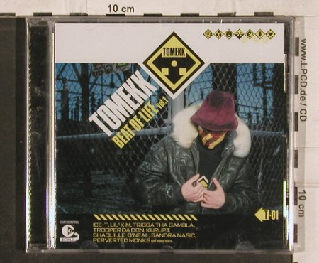 Tomekk: Beat Of Life Vol.1, FS-New, BMG(), EU, 02 - CD - 82937 - 7,50 Euro