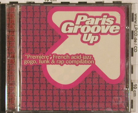 V.A.Paris Groove Up: Ready Made-Esprit Jazz, 15 Tr., Carrere(), D, 1994 - CD - 82946 - 5,00 Euro