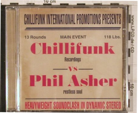 V.A.Chillifunk vs Phil Asher: East West ConnectionNathan Haine, MM(), UK, FS-New, 04 - CD - 82947 - 10,00 Euro