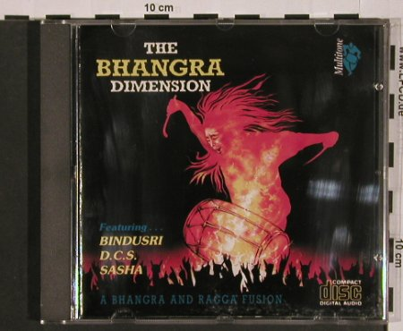 Bhangra Dimension: A Bhangra and Ragga Fusion, Multitone(DMUT), , 1992 - CD - 84078 - 10,00 Euro
