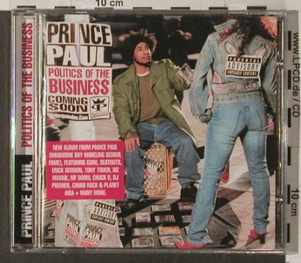 Prince Paul: Politics of the Business, FS-New, Antidote(), EU, 2003 - CD - 91931 - 7,50 Euro
