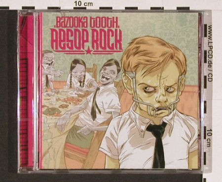 Aesop Rock: Bazooka Tooth, FS-New, Definitive(DJX 68 CD), , 2003 - 2CD - 92803 - 9,00 Euro