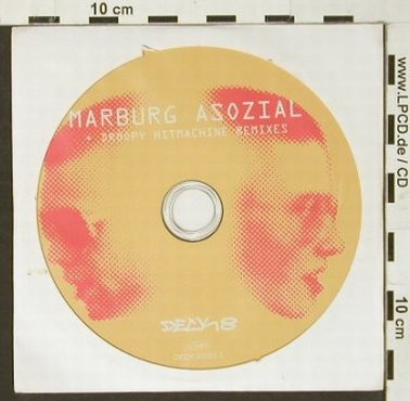 Marburg Asozial: Droopy Hitmachine Remixes,Promo,8Tr, Deck 8(51052-2), D, 2000 - CD - 93019 - 5,00 Euro