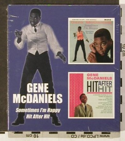 McDaniels,Gene: Sometimes I'm Happy/Hit After Hit, BGO(BGOcd685), UK,FS-New, 2005 - 2CD - 93233 - 11,50 Euro