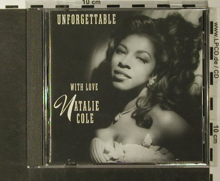 Cole,Natalie: Unforgettable, Elektra(), D, 1991 - CD - 93359 - 10,00 Euro