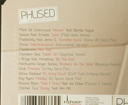 V.A.Phused: Infusion Saves Your Soul, FS-New, In | Phusion(), D, 2006 - CD - 93538 - 10,00 Euro