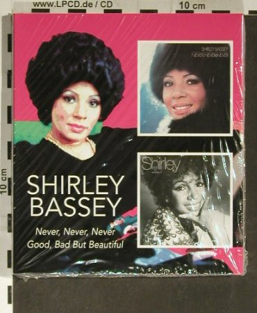 Bassey,Shirley: Never,Never,Never/Good,Bad..., BGO(), UK,FS-New, 2005 - 2CD - 93542 - 10,00 Euro