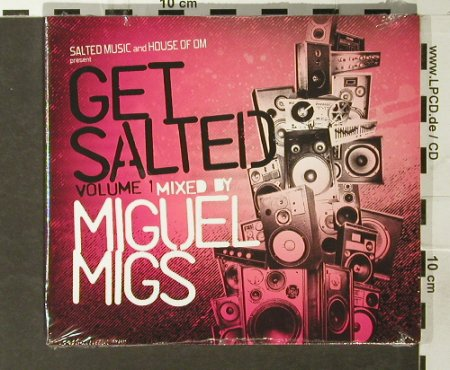 Miguel Migs: Get Salted Vol. 1,V.A.,Digi, FS-New, Salted Music(), , 2005 - CD - 93771 - 10,00 Euro