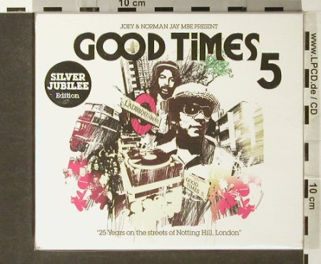 V.A.Good Times 5: Joey&Norman Jay MBE, FS-New, Resist(), UK, 2005 - 2CD - 93862 - 12,50 Euro