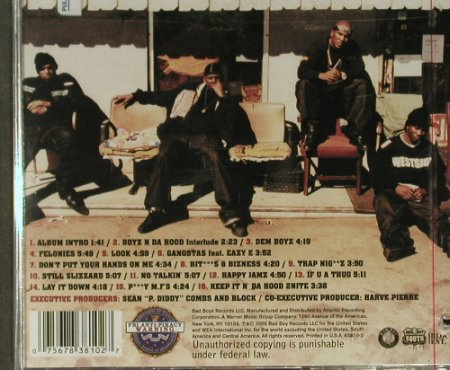 Boyz N Da Hood: Same, 16 Tr., FS-New, Bad Boy(), US, co, 2005 - CD - 94638 - 5,00 Euro