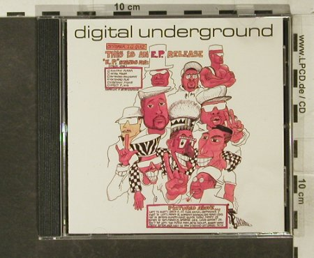Digital Underground: This Is An EP Release, 6 Tr., Tommy Boy(TBCD 3680), EC, 1990 - CD5inch - 95241 - 5,00 Euro