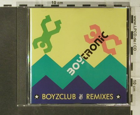 Boytronic: Boyzclub-Remixes, Mercury(510 291-2), D, 1991 - CD - 95562 - 7,50 Euro