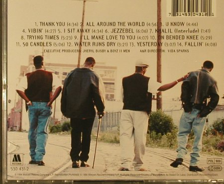 Boyz II Men: II, Motown(530 431-2), D, 1994 - CD - 95573 - 7,50 Euro