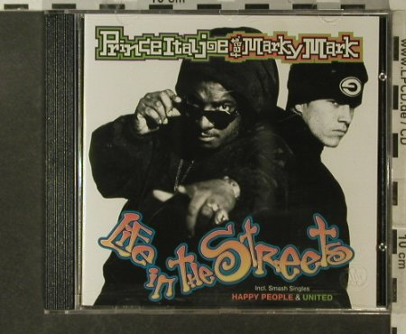 Prince Ital Joe Feat.Marky Mark: Life In The Streets, EW(), D, 1994 - CD - 95801 - 7,50 Euro