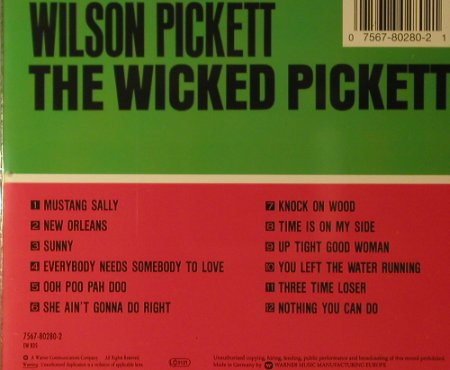 Pickett,Wilson: The Wicked Pickett '66, Atlantic(), D, 1997 - CD - 96118 - 10,00 Euro