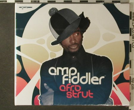 Amp Fiddler: Afro Strut, Digi, FS-New, Wall Of Sound(GEN 040CD), EU, 2006 - CD - 96235 - 10,00 Euro