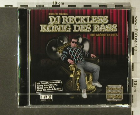 DJ Reckless: König des Bass, FS-New, Reckless(RR02), , 2007 - CD - 96259 - 10,00 Euro