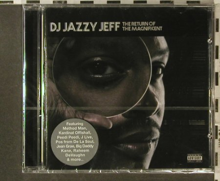 Dj Jazzy Jeff: The Return of the Magnificent, BBE Rec.(RR0068cd), D,FS-New, 2007 - CD - 96305 - 10,00 Euro