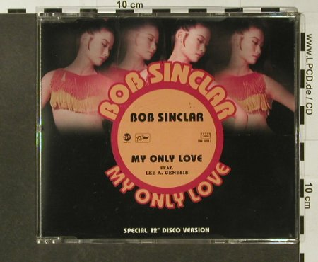 Sinclair,Bob: My Only Love*2+1, Yellow/EW(), D, 98 - CD5inch - 96664 - 3,00 Euro