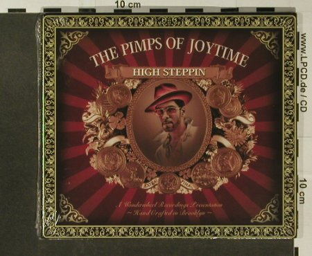 Pimps of Joytime: High Steppin, Digi, FS-New, Wonderwheel(), , 2007 - CD - 96709 - 10,00 Euro