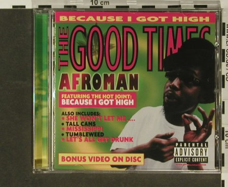 Afroman: The Good Times, Universal(), EU, 01 - CD - 96845 - 5,00 Euro