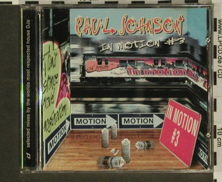Johnson,Paul: In Motion #3, Distance(), , 99 - CD - 96964 - 5,00 Euro