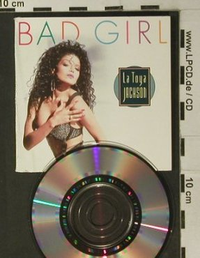 Jackson,La Toya: Bad Girl*2/Piano Man, Digi, Teldec(246856-2XS), D, 1989 - CD3inch - 98042 - 5,00 Euro