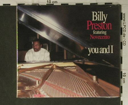 Preston,Billy: You and I , Digi, FS-New, Just(JUST CD 2001), I, 2003 - CD - 98481 - 17,50 Euro